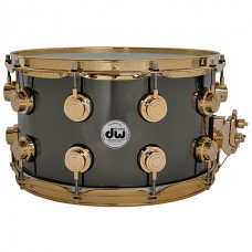 DW Collector's Brass 14''x 8'' Black Nickel over Brass